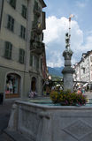 Sion, Valais, Switzerland Royalty Free Stock Photo