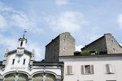 Sion, Valais, Switzerland Stock Photo