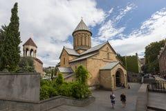Sioni大教堂在第比利斯,乔治亚 库存照片
