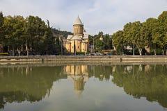 Sioni大教堂在第比利斯,乔治亚 库存图片
