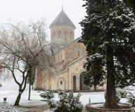 Sioni大教堂是一个寺庙在第比利斯,乔治亚的首都,从第6个到第7个世纪 被考虑一  免版税图库摄影