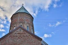 Sioni大教堂是一个寺庙在第比利斯,乔治亚的首都,从第6个到第7个世纪 被考虑一  库存图片