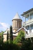 Sioni-Kathedrale in Tiflis, Georgia stockfotos