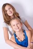 siostry. Zdjęcia Stock