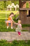 siostry dwa Zdjęcia Royalty Free