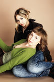 siostry dwa Obraz Stock
