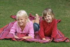 siostry młode Zdjęcia Royalty Free