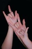 Siostry miłość synchronizuje 3 Zdjęcie Royalty Free