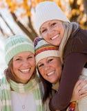 siostry trzy obrazy royalty free