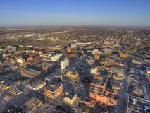 Sioux Falls is the biggest City in the State of South Dakota and Financial Center.  Stock Photo