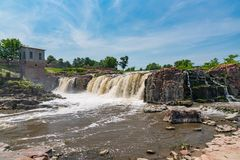 Sioux Falls South Dakota arkivbilder