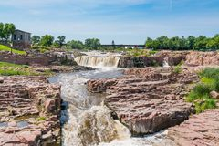 Sioux Falls South Dakota royaltyfri foto