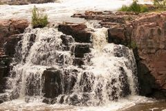 Sioux Falls Waterfall 4 foto de stock