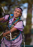 Sioux Hoop Dance Stock Images