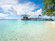 Sipadan-Insel, Sabah, Malaysia Lizenzfreies Stockbild