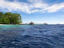 Sipadan-Insel in Sabah, Malaysia Stockbild