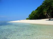 Sipadan island beach. Sabah, Malaysia Royalty Free Stock Images