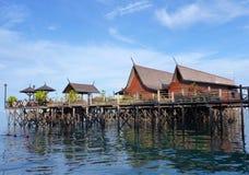 Sipadan-Kapalai Dive Resorts. Sabah, Malaysia Stock Images