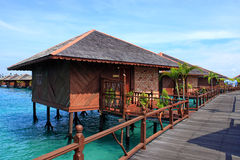 Sipadan Water Village Resort Royalty Free Stock Photo