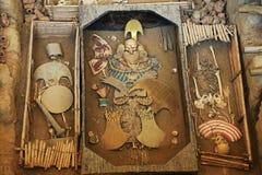 Лорд усыпальницы Sipan Стоковое фото RF