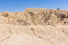 A Sipan ruin and a blue sky Stock Photography