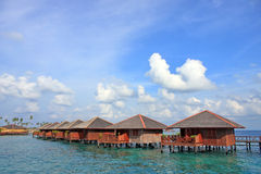 Sipdan Water Village Resort Royalty Free Stock Photography