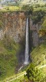 Sipiso piso Wasserfall in Danau Toba, Indonesien. Stockfotos