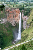 Sipiso Piso Waterfall Stock Image
