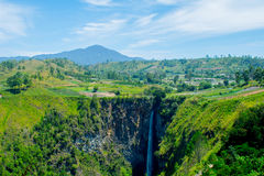 Sipiso-piso Waterfall Royalty Free Stock Image