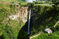 Sipiso-piso waterfalls Stock Photography