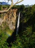 Sipiso-pisowasserfall Stockbilder
