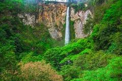 Sipisopiso waterfall, Medan, Indonesia. Stock Photo