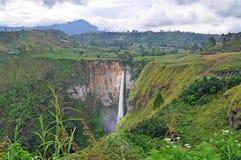 SipisoPiso Waterfall Royalty Free Stock Image