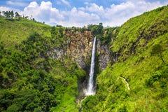 Sipisopiso waterfall in northern Sumatra Stock Photo