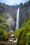 Sipisopiso waterfall, Sumatra, Indonesia Royalty Free Stock Photos