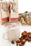 Sipping Chocolate Stock Image