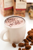 Sipping Chocolate Royalty Free Stock Photo