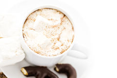 Sipping chocolate Stock Photo