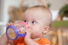 Sippy Cup Stock Photo