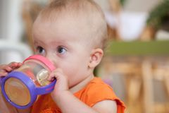 Sippy Cup Royalty Free Stock Images