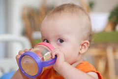 Sippy Cup Stock Image