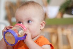 Sippy Cup Royalty Free Stock Photos