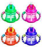 Sippy Cup Set Royalty Free Stock Photos