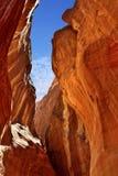 Siq gorge in Petra, Jordan Stock Image