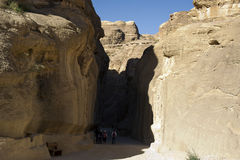 The Siq. Jordan Royalty Free Stock Photography
