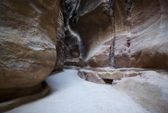 The Siq, Jordan Stock Images
