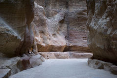 The Siq, Jordan Royalty Free Stock Images