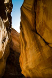 The Siq at Petra Royalty Free Stock Images
