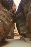 Siq at Petra Stock Photography
