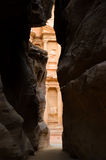 The Siq, Petra Stock Photo